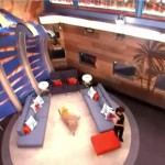 Big Brother 17 House - living room high view