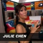 Big Brother 17 House - Julie Chen tours Lounge