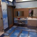 Big Brother 17 House - HoH bathroom