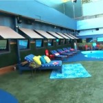 Big Brother 17 House - pool area