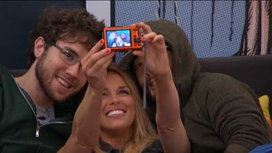 Shelli Poole takes a selfie with Steve Moses and James Huling - Source: CBS All Access