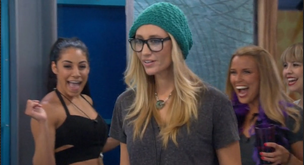 Vanessa and Jackie check out their HOH rooms
