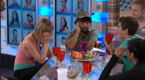 Jason Roy enjoys what will likely be his last full night in the BB17 house: Source: CBS All Access