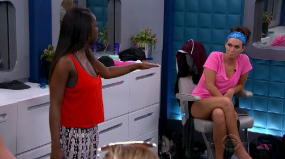 Da'Vonne confront Audrey during Sunday night's Big Brother 17 episode - Source: CBS