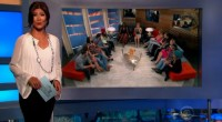 Julie Chen hosts Big Brother 17 eviction