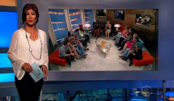 Julie Chen hosts Big Brother 17 eviction