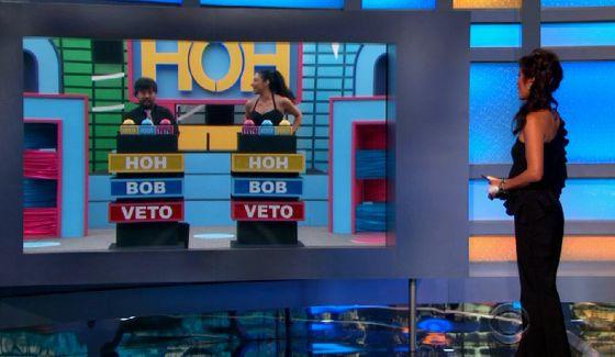 Julie Chen hosts Big Brother 17 HoH comp