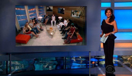 Julie Chen hosts Big Brother 17 eviction show