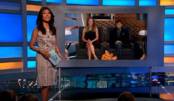 Julie Chen hosts Big Brother 17 live eviction