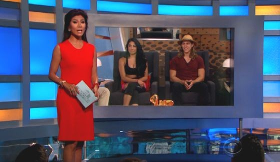 Julie Chen hosts Big Brother 17's live eviction show