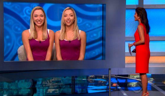 Liz Nolan & Julie Nolan together on Big Brother 17