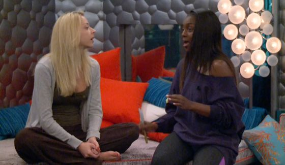 Julia Nolan & Da'Vonne Rogers on Big Brother