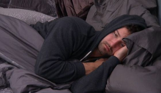 Look of defeat on Big Brother 17