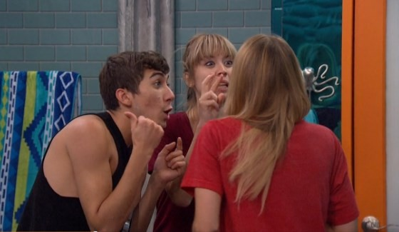 Jason, Meg, & Shelli excited over latest Big Brother gossip