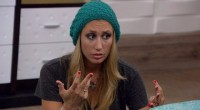 Vanessa counting the votes on Big Brother