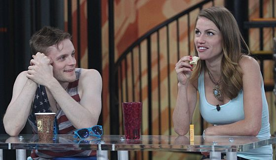 John McGuire and Becky Burgess on Big Brother