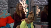 Becky and Vanessa pause from backstabbing