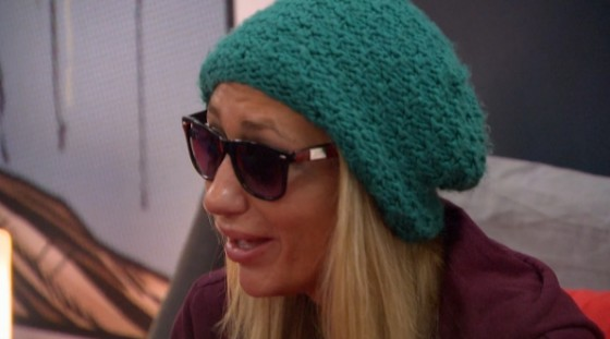 Vanessa Rousso is upset on Big Brother