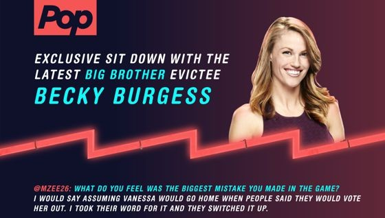 Becky Burgess - After Dark Eviction Interview