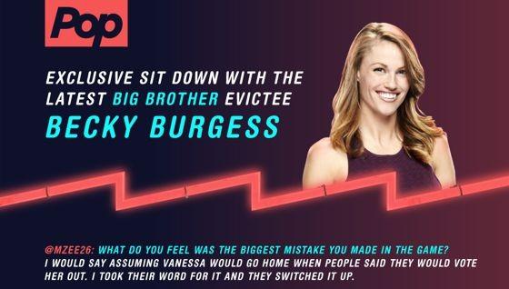Becky Burgess - After Dark Eviction Interview