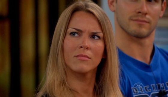 Shelli Poole is not too happy on Big Brother