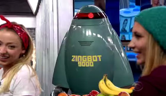 Zingbot arrives on Big Brother 17