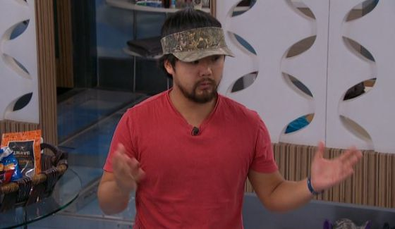 James prepares for his Power of Veto Ceremony