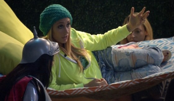 Vanessa guides the group on Big Brother 17