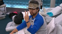 James Huling counting the votes on Big Brother 17