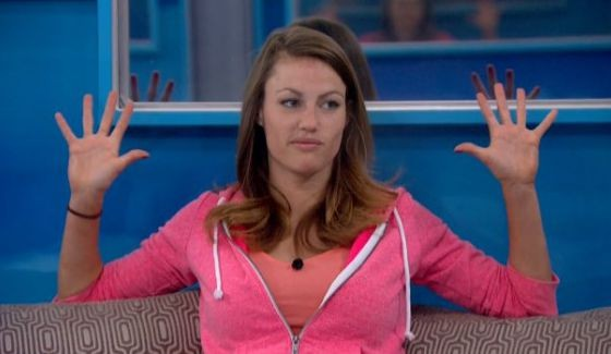 Becky counts her votes to stay on Big Brother 17