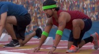 James Huling competes for HoH on Big Brother 17