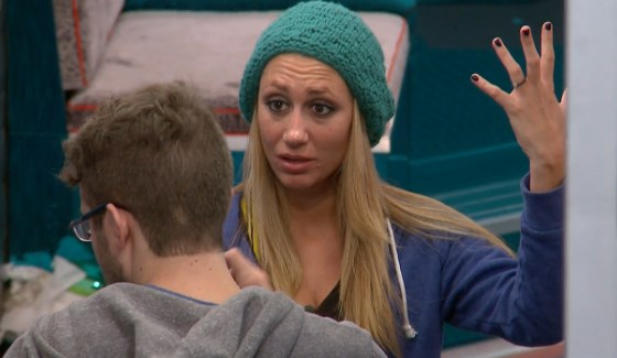 Vanessa Rousso is exasperated with Steve Moses on Big Brother