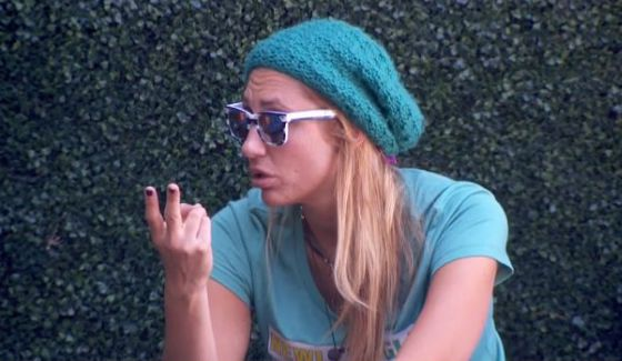 Vanessa Rousso counting the votes on Big Brother 17