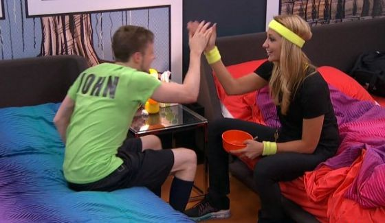 John McGuire and Vanessa Rousso celebrate a new plan