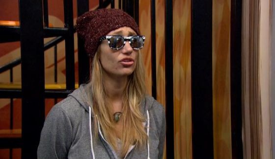 Vanessa, the Big Brother millionaire undercover.