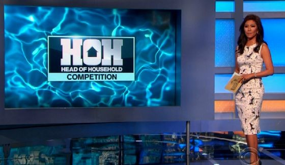 Julie Chen hosts HoH competition