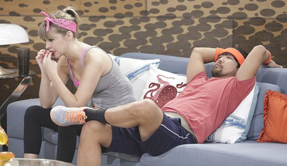 Meg Maley and James Huling on Big Brother 17