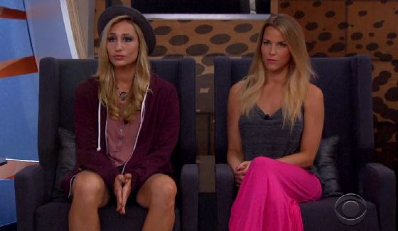 Big Brother nominees Vanessa & Shelli