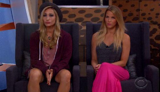Big Brother nominees Vanessa & Shelli