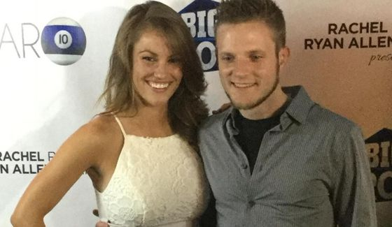 Big Brother 17 HGs John & Becky pose on red carpet