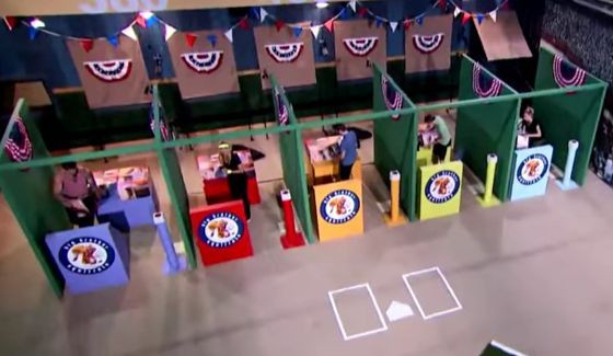Big Brother 17 HoH competition in Episode 33