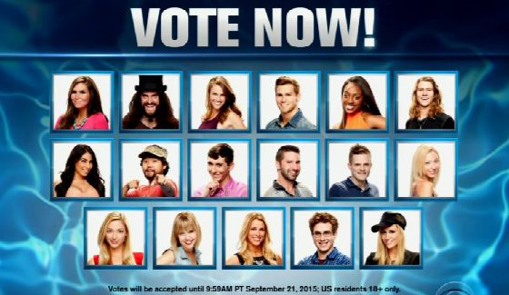 Vote for America's Favorite Player on Big Brother 17