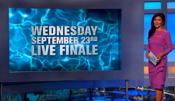 Julie Chen hosts Big Brother 17 season finale on CBS