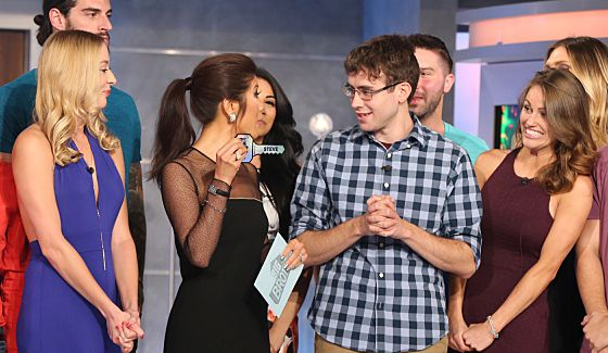 Big Brother 17 winner Steve Moses with Julie Chen