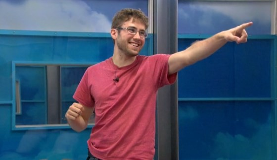 Steve Moses celebrates his plan on Big Brother 17