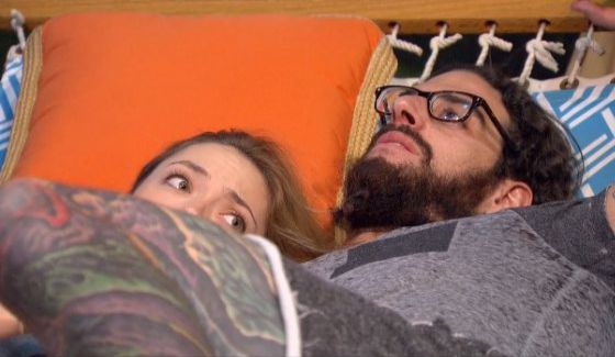 Liz Nolan and Austin Matelson on Big Brother