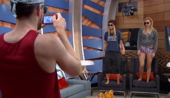 John snaps a picture of next week's nominees