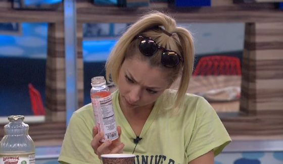 Julia Nolan taking in everything on her last BB17 day