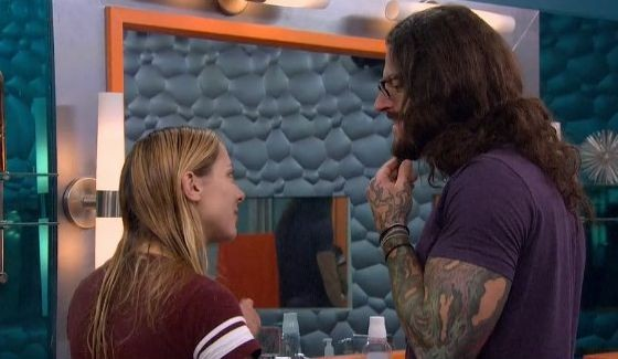 Liz Nolan & Austin Matelson debate a Veto offer - Source: CBS All Access