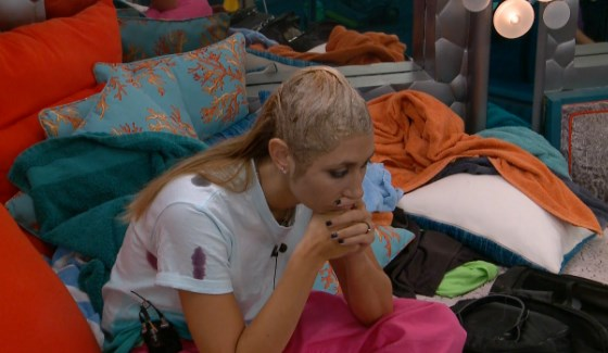 Vanessa Rousso is stressing finale night